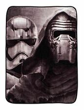 Star Wars Coral Fleece Blanket Bed Throw XL The Last Jedi