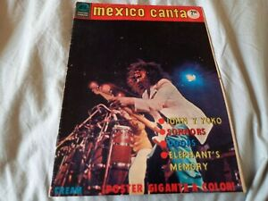 Mexico Canta Magazine #413 (1973) Marc Bolan T Rex John Lennon The Doors