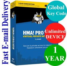 HMA Hide My Ass! PRO VPN Unlimited Device / 1 Year (Unique Global Key Code) 2018