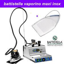 BATTISTELLA VAPORINO MAXI INOX Dampferzeuger mit Bügeleisen und orig Teflonsohle