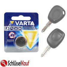 VARTA Autoschlüssel Batterie für Renault Laguna Megane Twingo Opel Movano Vivaro