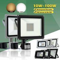 Motion Sensor Flood Light Waterproof Security Safety LED Lights Indoor Outdoor