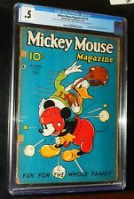 MICKEY MOUSE MAGAZINE #v2 #2 1936 Walt Disney Productions Comics CGC 0.5 PR