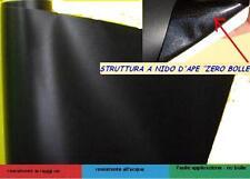 Pellicola adesiva nero opaco wrapping mania 30CM X 50CM  Antigraffio No Bolle