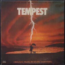 TEMPEST -ORIG SOUNDTRACK STOMU YAMASHTA CASABLANCA US PRESS EX++ COND 1982 RARE