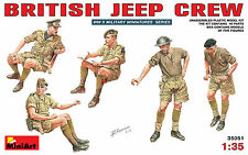 MODEL KIT FIGURES MIN35051 - Miniart 1:35 - British Jeep Crew