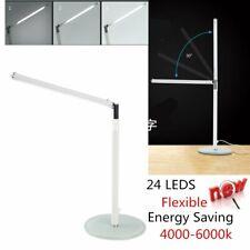 Adjustable Rotatable 24LED Bright LED Table Desk Lamp Study Reading USB Light US
