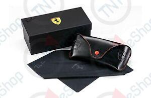 Ray-ban Sunglasses Eyeglasses Ferrari Scuderia Soft Case w/ Cleaning Cloth
