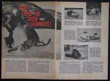 1965 Snowmobile Review Ski-Doo Skeeter Skee-Horse +more
