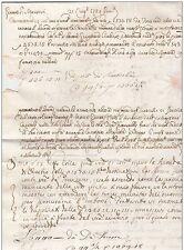 PREFILATELICA 1759 ITALY COVER LETTERA DI CAMBIO GENOVA - VENEZIA - GENOVA H.C.V