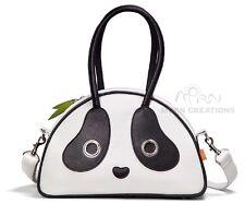 Panda MEDIUM Hand bag MORN CREATIONS PANDARAMA Tote Purse Kung Fu Shoulder cat