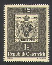 Austria 1950 S-on-S/Stamps/Post/Mail/Postal History/Coat-of Arms 1v (n34369)