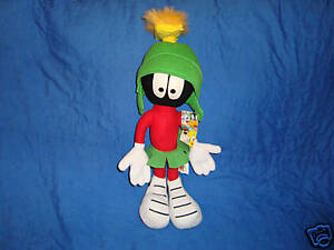 "Martin Martian Looney Tunes 15"" Amusement Park Plush Ganz"