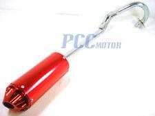 MUFFLER PIPE EXHUAT XR50 CRF50 XR CRF 50 125cc SSR SDG 107 110 RED V EX16