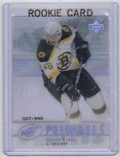 07-08 UD Upper Deck Ice David Krejci Rookie Card RC #147 Mint 027/999 Rare