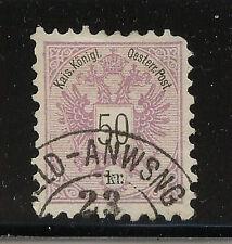 Austria   46   used  catalog  $80.00