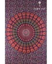 Barmeri Peacock Feather Mandala Tapestry Hippie Bohemian Wall Hanging