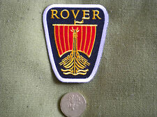75mm Rover Insignia Motoring Parche Bordado