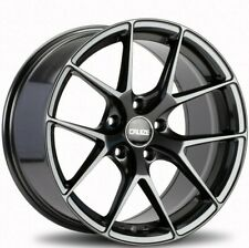 "18"" Grey GTO Alloy Wheels Fit Opel Omega Signum Speedster Vectra Zafira 5x110"