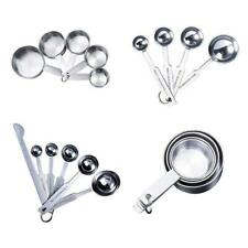Мерные чашки ложки набор сталь набор мерных ложек и серебра K2D8