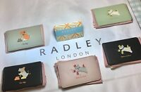 Luxury Leather RADLEY LONDON TRAVEL CARD HOLDER inc dust bag various designs New