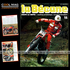 LA BECANE N°15 BULTACO T350 SHERPA BUTLER CALTHORPE CHARLES COUTARD CAMPBELL '77