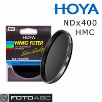 Hoya Neutral Density NDx400 ND400 HMC Filter - 77mm 77 mm