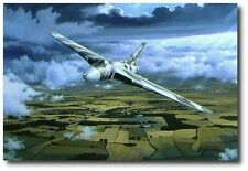 Delta Lady Artist Proof by Philip West Avro Vulcan XH558 Four signers