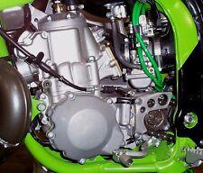 KAWASAKI KX125 KX250 CARBURETOR VENT HOSES CLAMP KIT 1994-2006 KX CARB HOSES