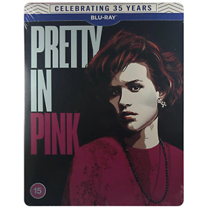 Pretty In Pink Blu-Ray Steelbook - UK Release Limited Edition