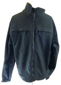 5.11 Tactical Men's Large Jacket Chameleon Softshell Mesh Liner Black Poly EUC