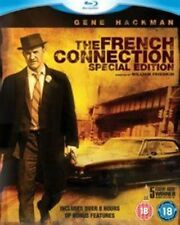 French Connection Thriller Action Gene Hackman Blu-ray 1971 Region