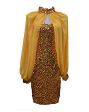 Lady's plain black gold sliver color sequin dancing dress jacket cape cardigan