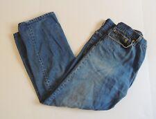 Levis 501 36 x 28 Jeans Button Fly Vtg 80s Hige Denim Medium Wash USA 40x30 Tag