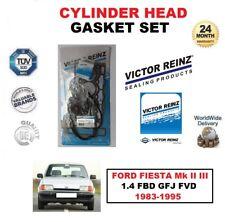 VICTOR REINZ HEAD GASKET SET for FORD FIESTA Mk II III 1.4 1983-1995 FBD GFJ FVD
