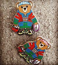 Teddy Bear (Lapel Pin) Polo Hi Tech x Alpine