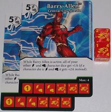 2 x BARRY ALLEN: CENTRAL CITY STREAK 42 Green Arrow and The Flash Dice Masters