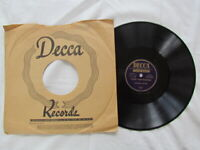 Andrews Sisters, 78rpm shellac, Count Your Blessings/In the Garden, Decca Faith