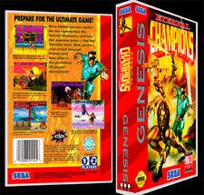 Eternal Champions - Sega Genesis Reproduction Art Case/Box No Game.