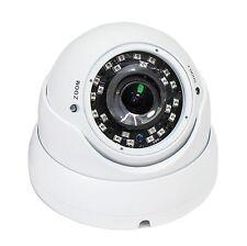 Blanco IP66 dispositivo antimanipulación 1080P IR LED CCTV a prueba de vandalismo cámara domo 2.8-12mm Lente Varifocal