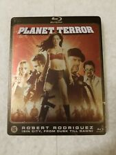 Planet Terror METALPAK Blu Ray Used Like New SOLD OUT SUPER RARE (Like SteelBook