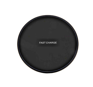Qi Wireless Fast Charger Charging Pad Dock iPhone Samsung Android Black / White