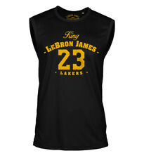 King Lebron James Camiseta 23 los Angeles Lakers Baloncesto Sport Jersey