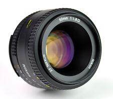 Nikon Nikkor 50mm fl.8 D AF Lens - Mint