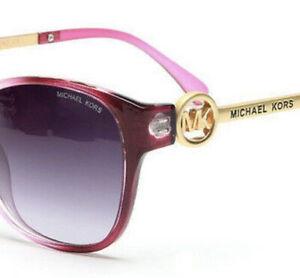 MK Damen  Michael Kors 8101 Pink Sonnenbrille 🕶 Pink Gold NEU
