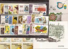 España 1988 Edifil 2927/2985 Sellos ** Año Completo con Hojitas Spain Stamps