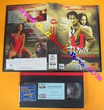 VHS film U TURN Inversione di marcia Jennifer Lopez Nick Nolte Penn (F68) no dvd