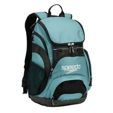 Speedo Large Teamster Backpack Swim Bag 35L Liter Light Blue New with Tags