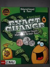 Exact Change Coin Value Game For Children Learning Resources Brand New 6+