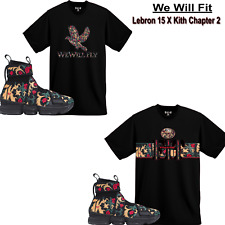 We Will Fit shirt match Kith x Nike LeBron 15 Lifestyle King's Crown All star